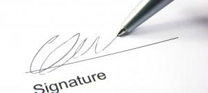 signature - small